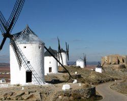 Consuegra y los molinos del Quijote